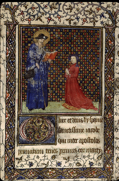 Paris, Bibl. Sainte-Geneviève, ms. 2701, f. 195