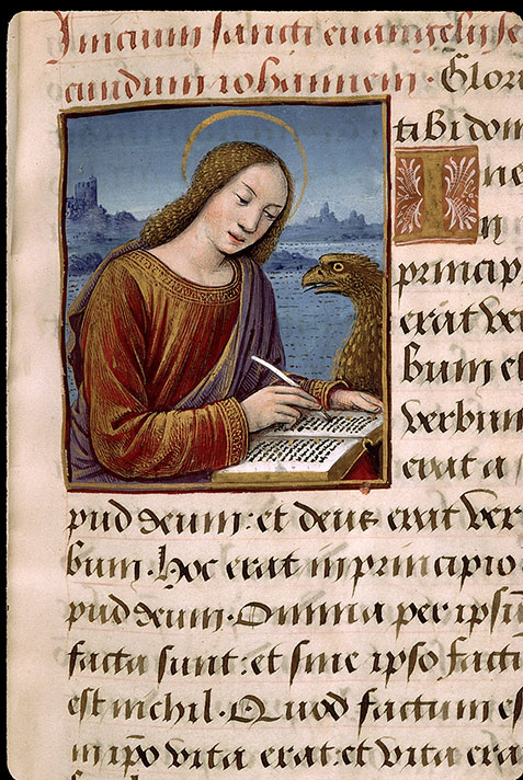 Paris, Bibl. Sainte-Geneviève, ms. 2705, f. 010