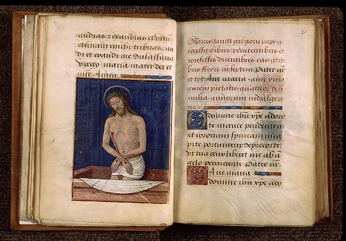 Paris, Bibl. Sainte-Geneviève, ms. 2705, f. 019v-020