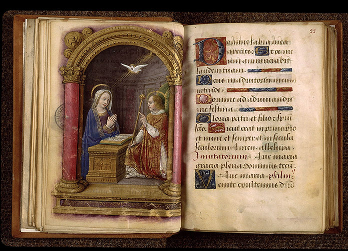 Paris, Bibl. Sainte-Geneviève, ms. 2705, f. 021v-022