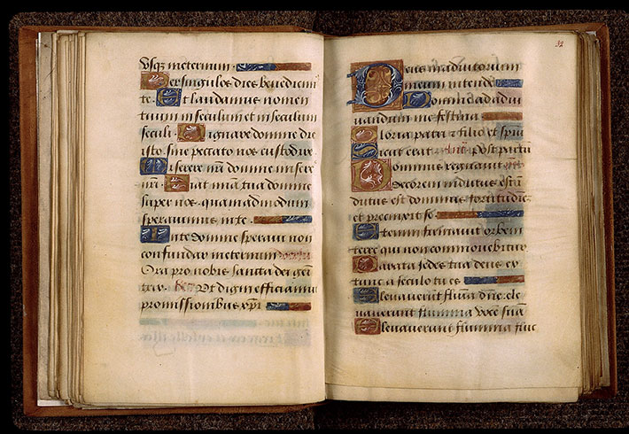 Paris, Bibl. Sainte-Geneviève, ms. 2705, f. 031v-032