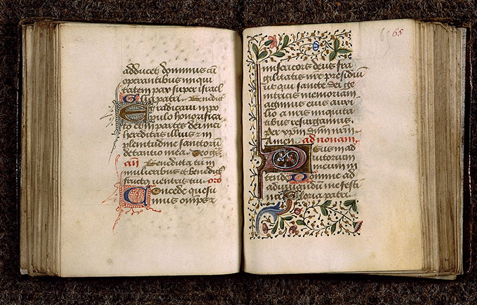 Paris, Bibl. Sainte-Geneviève, ms. 2706, f. 064v-065