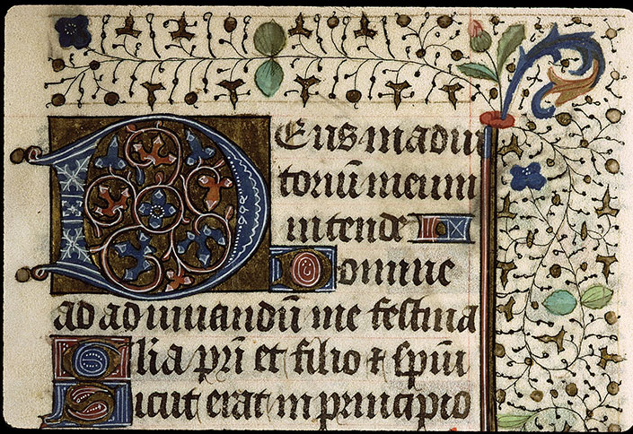 Paris, Bibl. Sainte-Geneviève, ms. 2711, f. 057