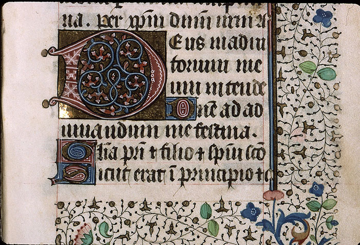 Paris, Bibl. Sainte-Geneviève, ms. 2711, f. 076