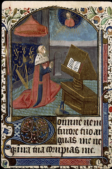 Paris, Bibl. Sainte-Geneviève, ms. 2711, f. 090