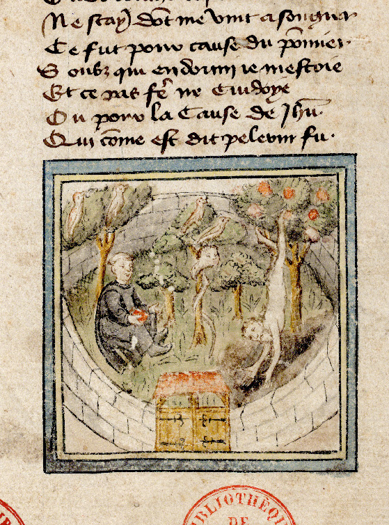 Paris, Bibl. de l'Institut de France, ms. 0009, f. 001 - vue 4