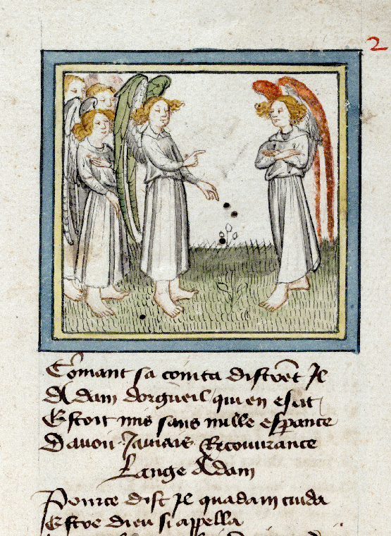 Paris, Bibl. de l'Institut de France, ms. 0009, f. 002 - vue 2