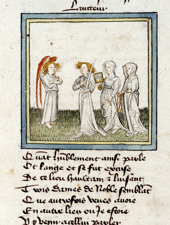Paris, Bibl. de l'Institut de France, ms. 0009, f. 003 - vue 4