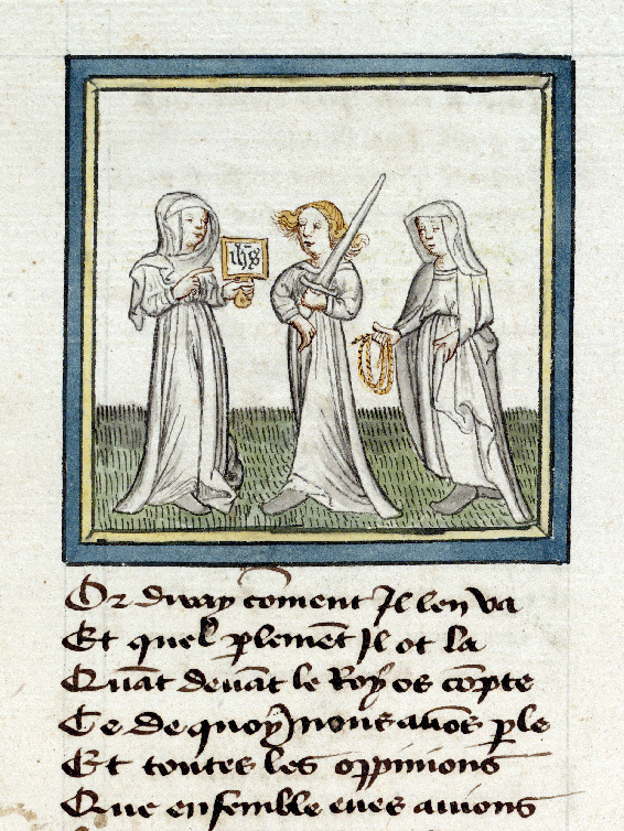 Paris, Bibl. de l'Institut de France, ms. 0009, f. 006 - vue 2
