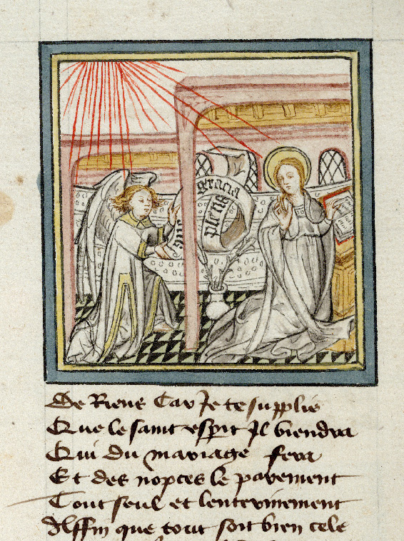 Paris, Bibl. de l'Institut de France, ms. 0009, f. 008v
