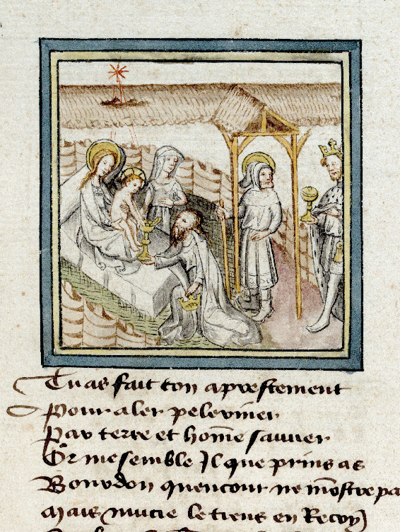 Paris, Bibl. de l'Institut de France, ms. 0009, f. 018 - vue 1