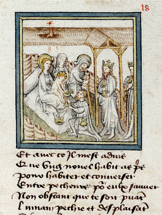 Paris, Bibl. de l'Institut de France, ms. 0009, f. 018 - vue 2