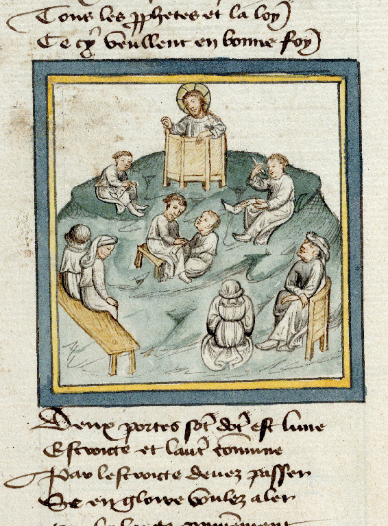 Paris, Bibl. de l'Institut de France, ms. 0009, f. 039v - vue 1