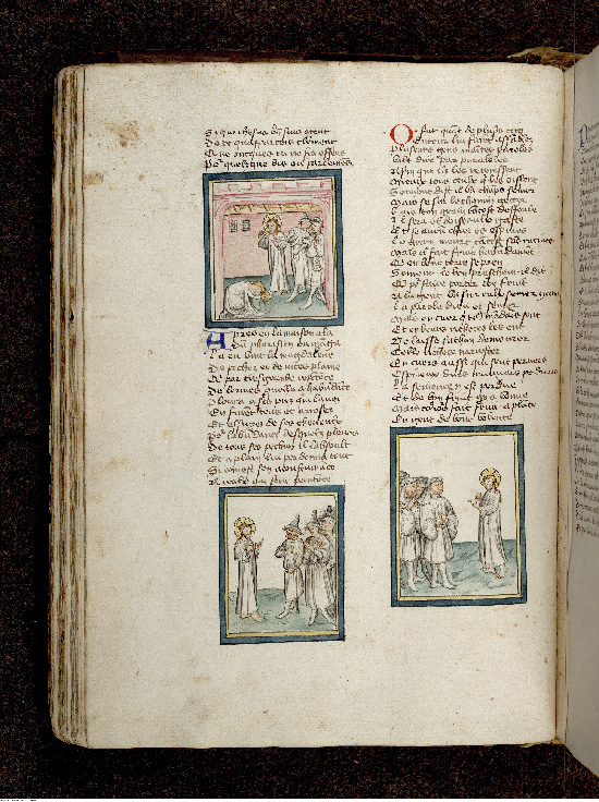 Paris, Bibl. de l'Institut de France, ms. 0009, f. 040v - vue 1