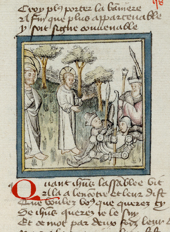 Paris, Bibl. de l'Institut de France, ms. 0009, f. 058 - vue 1