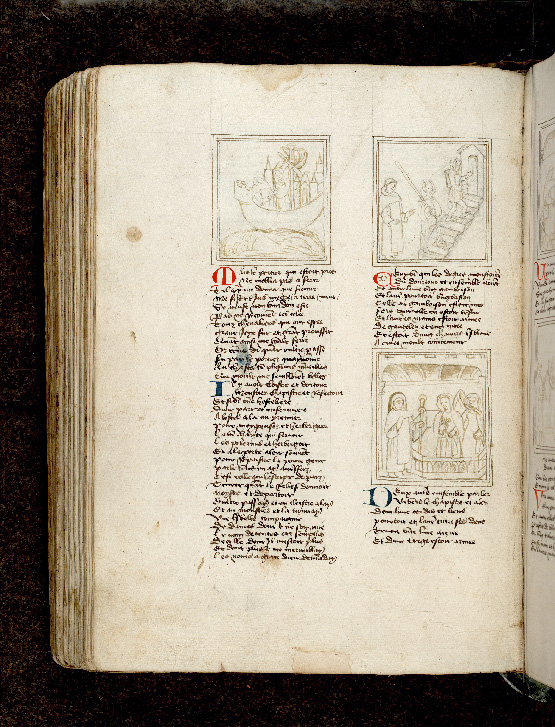 Paris, Bibl. de l'Institut de France, ms. 0009, f. 149v - vue 1