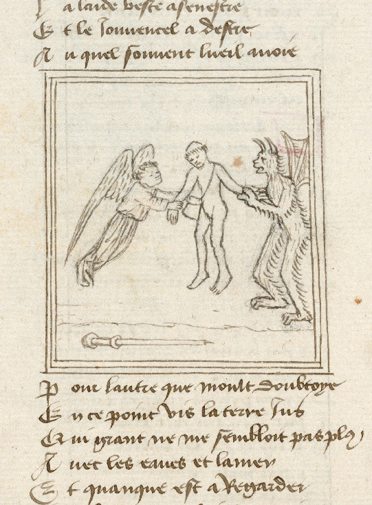 Paris, Bibl. de l'Institut de France, ms. 0009, f. 158v