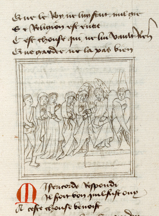 Paris, Bibl. de l'Institut de France, ms. 0009, f. 173 - vue 1