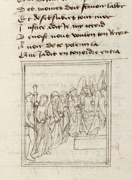 Paris, Bibl. de l'Institut de France, ms. 0009, f. 173 - vue 2