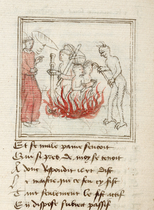 Paris, Bibl. de l'Institut de France, ms. 0009, f. 181v