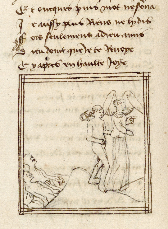 Paris, Bibl. de l'Institut de France, ms. 0009, f. 191v - vue 2