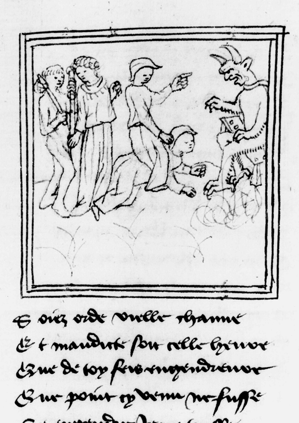 Paris, Bibl. de l'Institut de France, ms. 0009, f. 193