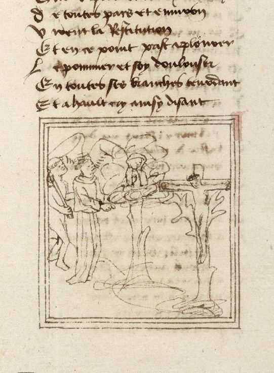 Paris, Bibl. de l'Institut de France, ms. 0009, f. 207 - vue 2