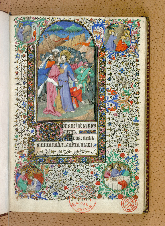 Paris, Bibl. de l'Institut de France, ms. 0547, f. 001 - vue 2