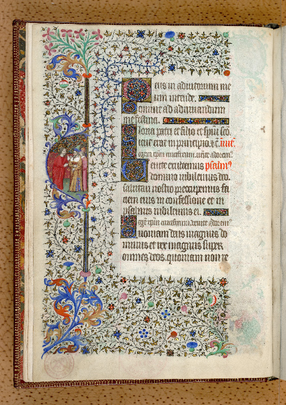 Paris, Bibl. de l'Institut de France, ms. 0547, f. 001v - vue 1