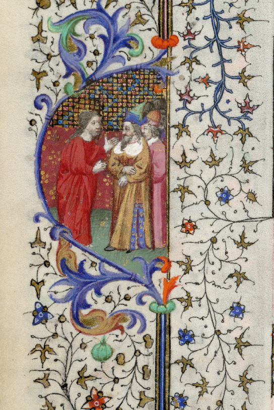 Paris, Bibl. de l'Institut de France, ms. 0547, f. 001v - vue 2