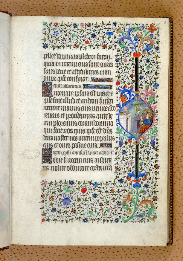 Paris, Bibl. de l'Institut de France, ms. 0547, f. 002 - vue 1