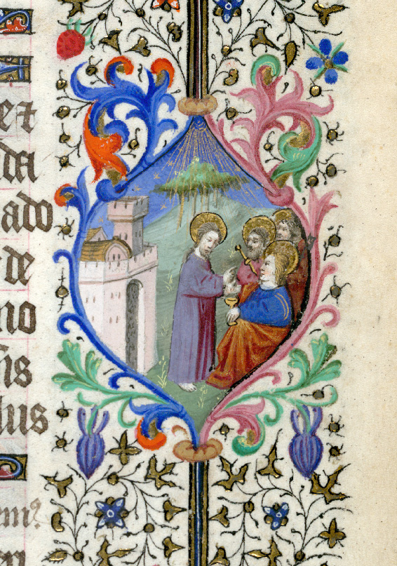 Paris, Bibl. de l'Institut de France, ms. 0547, f. 002 - vue 2
