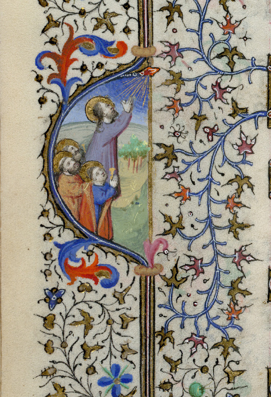 Paris, Bibl. de l'Institut de France, ms. 0547, f. 003v - vue 2