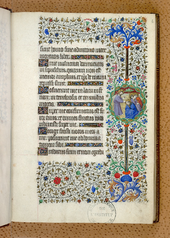 Paris, Bibl. de l'Institut de France, ms. 0547, f. 004 - vue 1