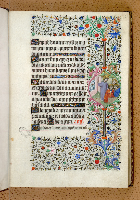 Paris, Bibl. de l'Institut de France, ms. 0547, f. 005 - vue 1