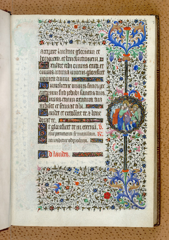 Paris, Bibl. de l'Institut de France, ms. 0547, f. 007 - vue 1