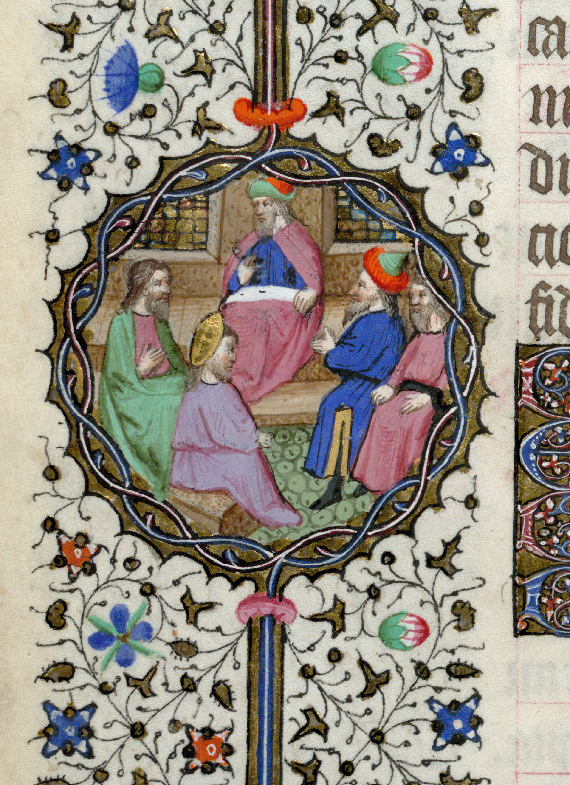 Paris, Bibl. de l'Institut de France, ms. 0547, f. 015v - vue 2