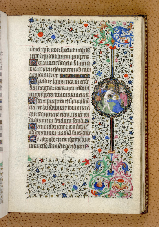 Paris, Bibl. de l'Institut de France, ms. 0547, f. 024 - vue 1