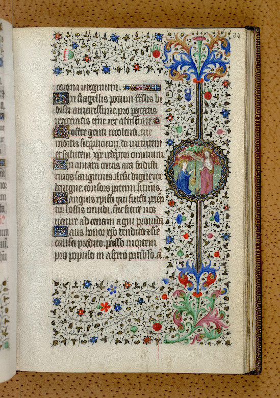 Paris, Bibl. de l'Institut de France, ms. 0547, f. 034 - vue 1