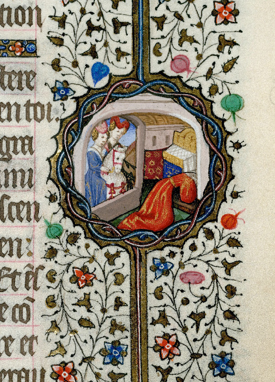 Paris, Bibl. de l'Institut de France, ms. 0547, f. 054 - vue 2