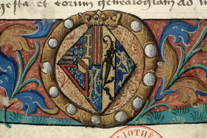 Paris, Bibl. de l'Institut de France, ms. 0679, f. 001 - vue 3