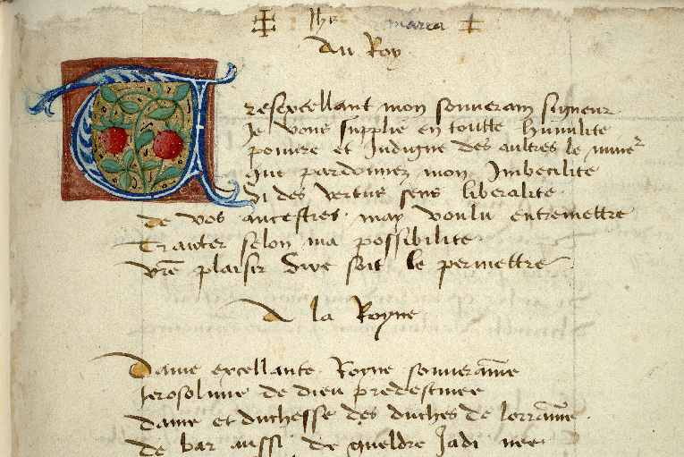 Paris, Bibl. de l'Institut de France, ms. 0679, f. 007