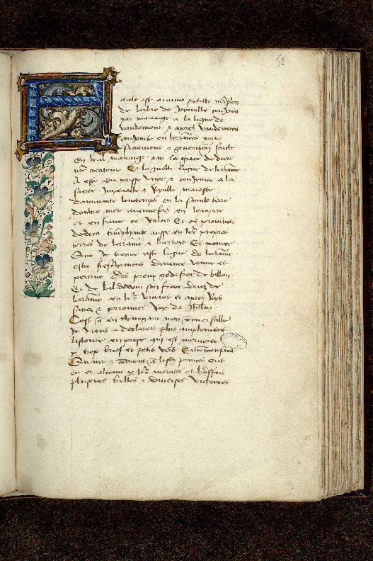 Paris, Bibl. de l'Institut de France, ms. 0679, f. 052