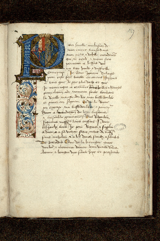 Paris, Bibl. de l'Institut de France, ms. 0679, f. 127
