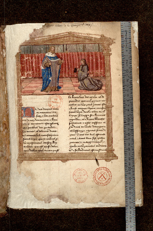 Paris, Bibl. de l'Institut de France, ms. Godefroy 321, f. 001 - vue 1