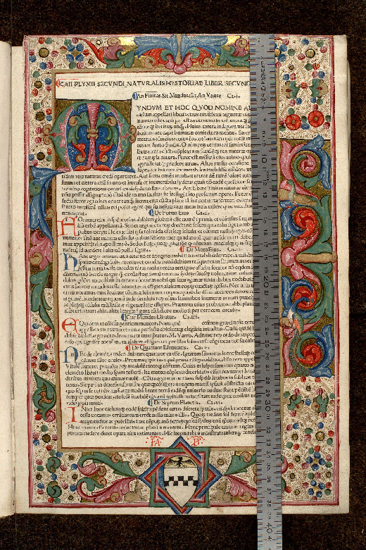 Paris, Bibl. de l'Institut de France, inc. Fol. M 0117 B, p. 001 - vue 1
