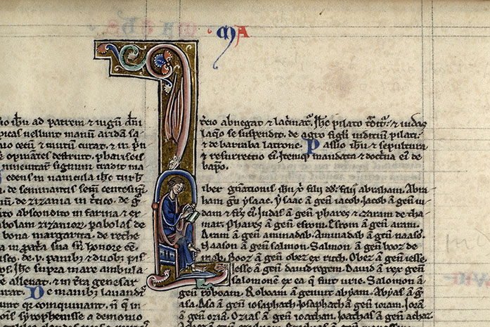 Paris, Bibl. Mazarine, ms. 0012, f. 218v