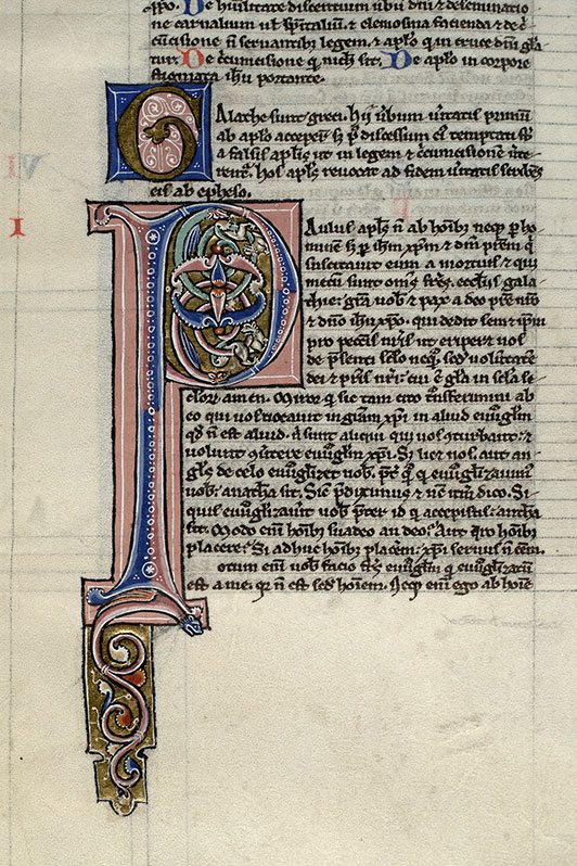 Paris, Bibl. Mazarine, ms. 0012, f. 252