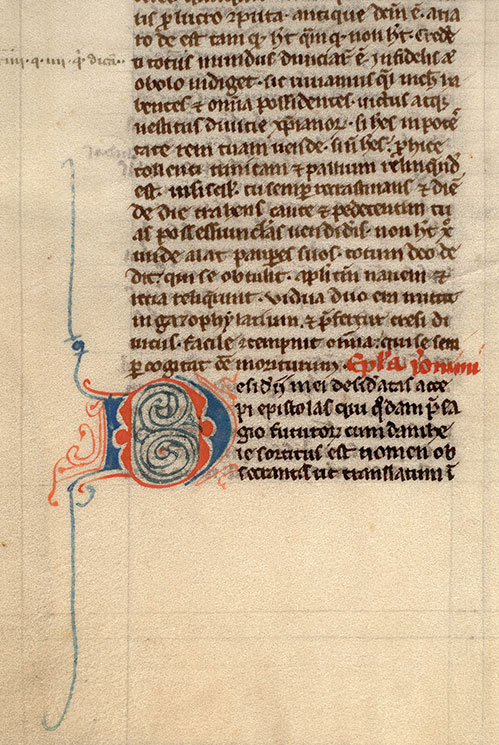 Paris, Bibl. Mazarine, ms. 0023, f. 003v
