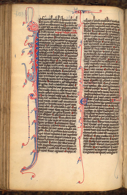 Paris, Bibl. Mazarine, ms. 0025, f. 107v
